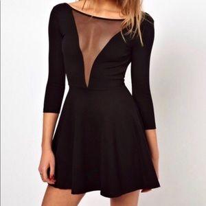 American Appare Black Mini Dress